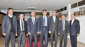 Vergi Dairesi Başkanı Ünver'den KSO'ya Ziyaret