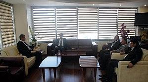 Vergi Dairesi Başkanından Turan'a Ziyaret