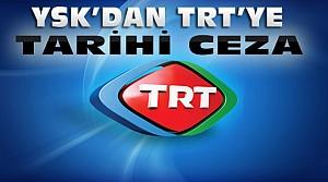 YSK'dan TRT'ye Erdoğan Cezası