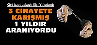 1 Yıldır Aranan Cinayet Zanlısı Konya'da Yakalandı