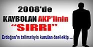 2008'de Kaybolan AKP'linin Sırrı