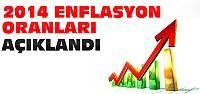 2014 Enflasyon Oranları Açıklandı