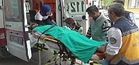 2 Kişi Elektrik Akımına Kapılarak Yaralandı