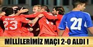 A Millilerimiz Andorra'yı 2-0 Mağlup Etti