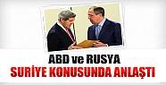 ABD ve Rusya Suriye Konusunda Anlaştı