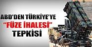 ABD'den Türkiye'ye Füze İhalesi Tepkisi