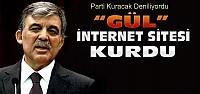 Abdullah Gül İnternet Sitesi Kurdu