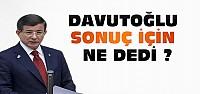 Ahmet Davutoğlu'ndan Seçim Sonucu Açıklaması