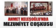 Ahmet Keleşoğlu'nda Mezuniyet Töreni