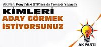 Ak Parti STK'lara Konya Adaylarını Soracak