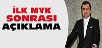 Ak Partiden MYK Sonrası Açıklama