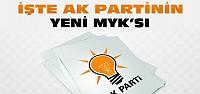Ak Partinin Yeni MYK'sı-Kim Hangi Görevde?