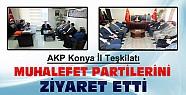 AKP Konya İl Teşkilatından  Muhalefet Partilerine Ziyaret