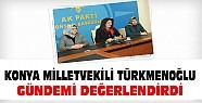 AKP Konya Milletvekili Türkmenoğlu gündemi değerlendirdi