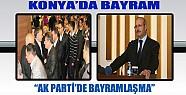 AKP Konya Teşkilatı Bayramlaştı