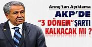 AKP'de 3 dönem şartı kalkıyor mu?