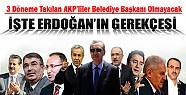AKP'de Vekilleri Belediye Başkanı Olmayacak Çünkü?