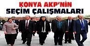 AKP'nin Konya'daki Seçim Çalışmaları Sürüyor