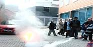 Akşehir İtfaiyesinde Tatbikatlar Sürüyor