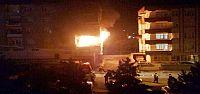 Akşehir'de Apartman Yangını Korkuttu