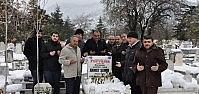 Akşehir'de Gazeteci Ahmet Şener Anıldı