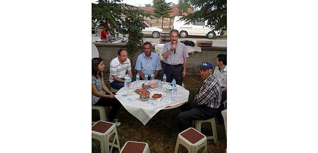 Akşehir'de İftar Programları Sürüyor