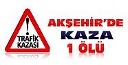 Akşehir'de Kaza:Kamyonun çarptığı lise öğrencisi öldü
