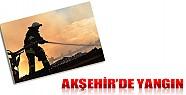 Akşehir'de Üç İş Yeri Yandı!
