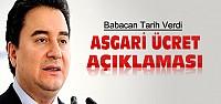 Ali Babacan'dan Asgari Ücret Açıklaması