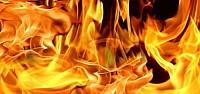 Amcasının oğlunu diri diri yaktı