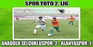 Anadolu Selçukluspor 2 Alanyaspor1