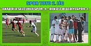 Anadolu selçukluspor 4 Denizli Belediyespor 1