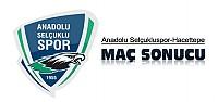 Anadolu Selçukluspor-Hacettepespor Maç Sonucu