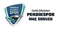 Anadolu Selçukluspor-Pendikspor'a Kendi Sahasında Yenildi