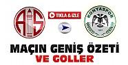 Antalyaspor-Konyaspor-Geniş Özeti ve Goller-VİDEO