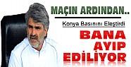 Antalyaspor Maçının Ardından:Tütüneker Konya Basınını Eleştirdi