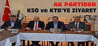 Musa Arat ve Adaylardan KTB-KSO Ziyareti
