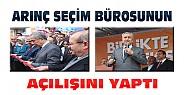 Arınç Konya'da AKP Seçim Koordinasyon Merkezinin açılışını yaptı