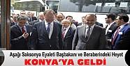 Aşağı Saksonya Eyaleti Başbakanı ve Heyeti Konya'ya Geldi