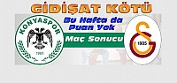 Atiker Konyaspor-Galatasaray Maç Sonucu