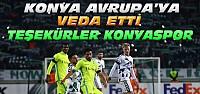 Atiker Konyaspor-Gent Maç Sonucu