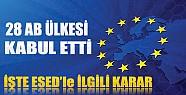 Avrupa Birliği Ülkelerinden Kritik Esed Açıklaması