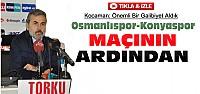 Aykut Kocaman'dan Osmanlıspor Maçı Açıklaması