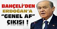 """Bahçeli'den Başbakan'a """"Genel Af"""" Tepkisi"""