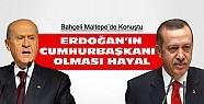 Bahçeli:Erdoğan'ın Cumhurbaşkanı Olması Hayal