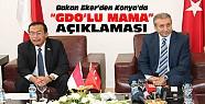 Bakan Eker Konya'da GDO'lu Mama Açıklaması Yaptı