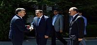 Bakan Eroğlu'ndan Başkan Akyürek'e Ziyaret