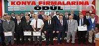 Bakan Zeybekçi'den Konya Firmalarına Ödül