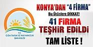 Bakanlık; Hileli 50 Ürünü Daha Teşhir Etti-Konya'dan 4 Firma Var !