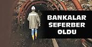 Bankalar Soma'daki işçiler için harekete geçti